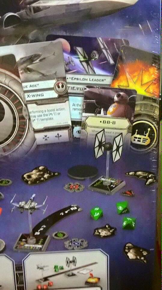 New X-wing STarter set contents