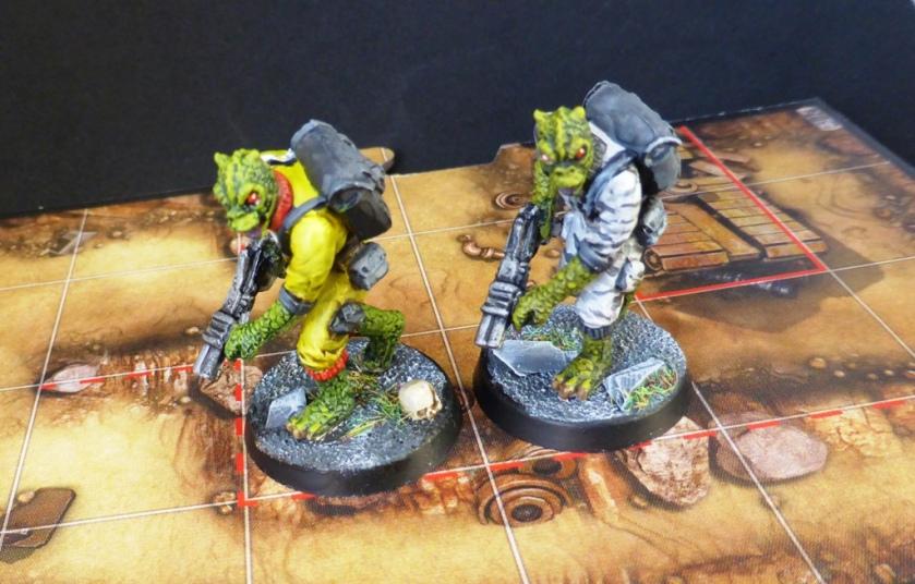 Imperial Assault Trandoshan Hunters