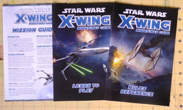 The Force Awakens X-Wing Rules