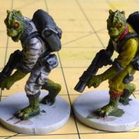 Painting Table - Imperial Assault Trandoshan Hunters