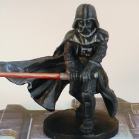 Painting Table - Imperial Assault - Dark Vader Part 2 - Light Saber