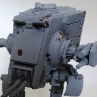 Painting Table - Imperial Assault - AT-ST Part 1 - Salt Weathering
