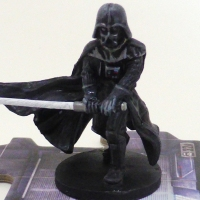 Painting Table - Imperial Assault - Dark Vader Part 1 - All Black