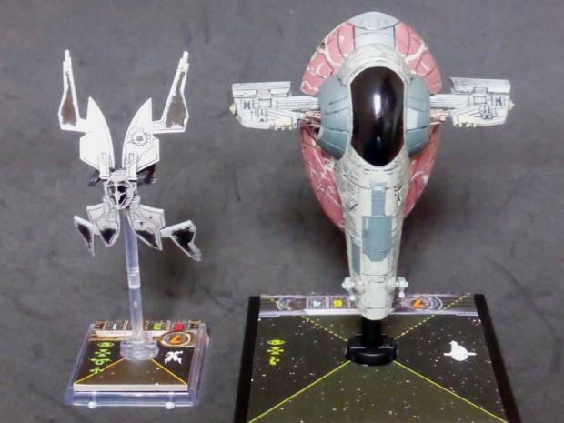 StarViper Size Comparison X-Wing