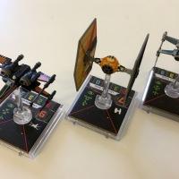 X-Wing: Sabine's TIE-Fighter & Resistance Heroes